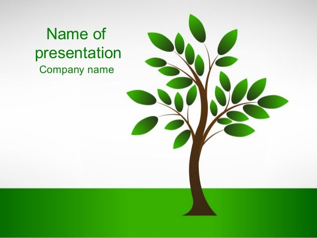 New Tree PowerPoint Template - whiteboard.freeforums.org