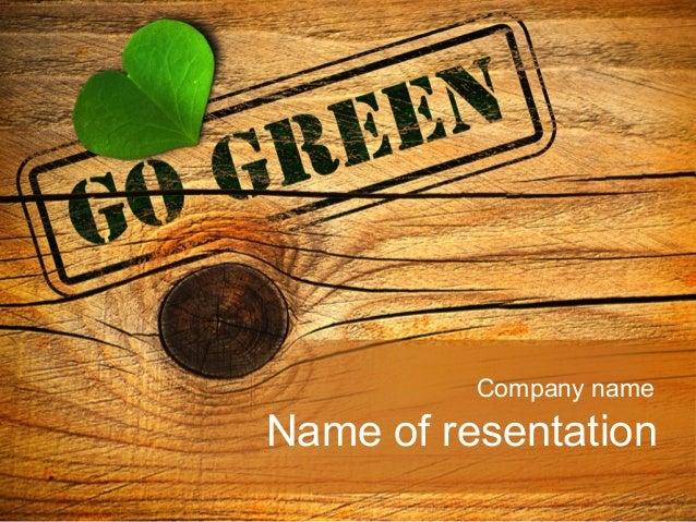 Company nameName of resentation