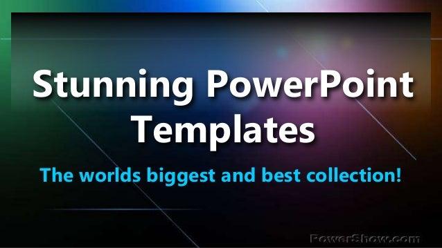 stunning powerpoint templates
