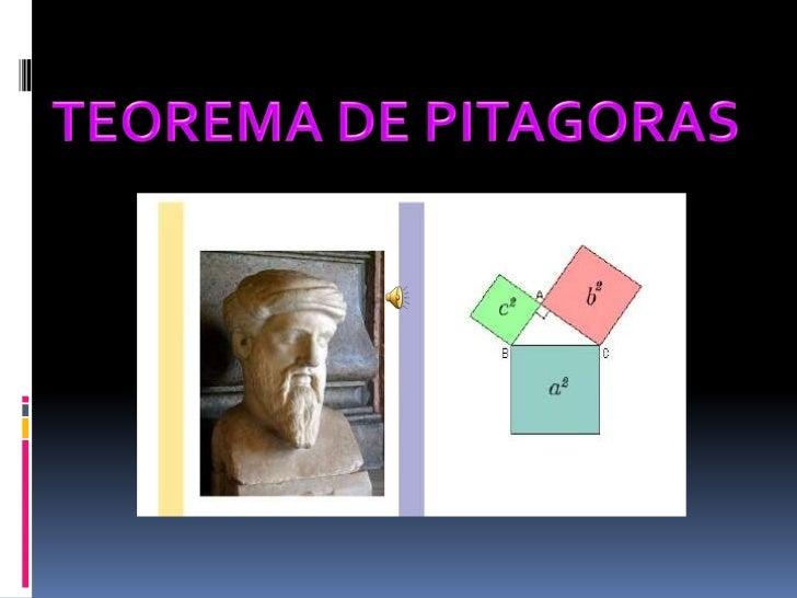 Power point   teorema de pitagoras