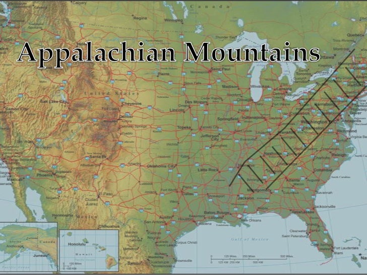 Powerpoint United States - United states mountains