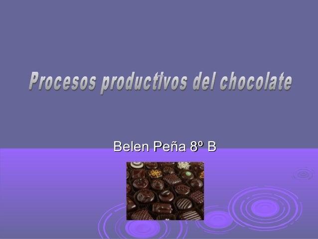 Belen Peña 8º BBelen Peña 8º B