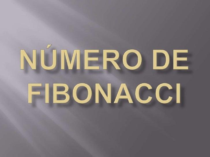 Número de Fibonacci<br />