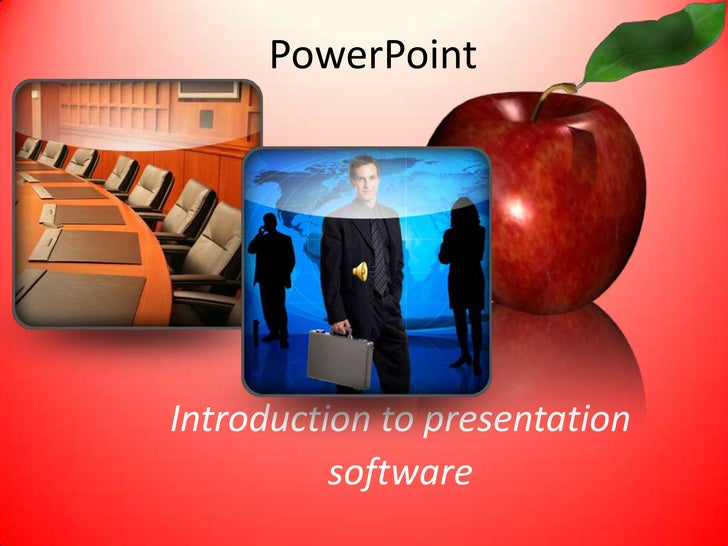 PowerPoint     Introduction to presentation           software