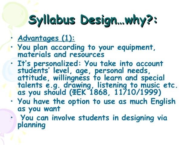Theme-based syllabus design: Introducing lesson plans, activities and…