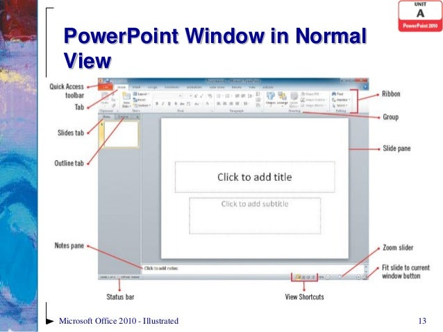 powerpoint 2010 unit a ppt