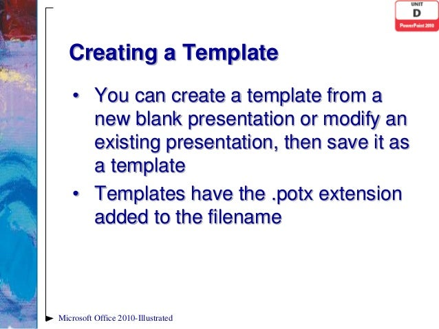 powerpoint 2010 unit d ppt, Powerpoint templates