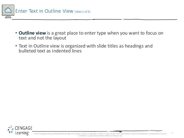 ppt outline view