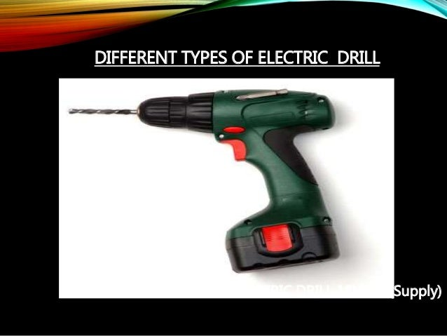different types of electrical power and hydraulic tools