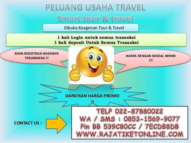Wa 0853 1569 9077 Telkomsel Bisnis Travel Agent Tiket Promo Pesawa