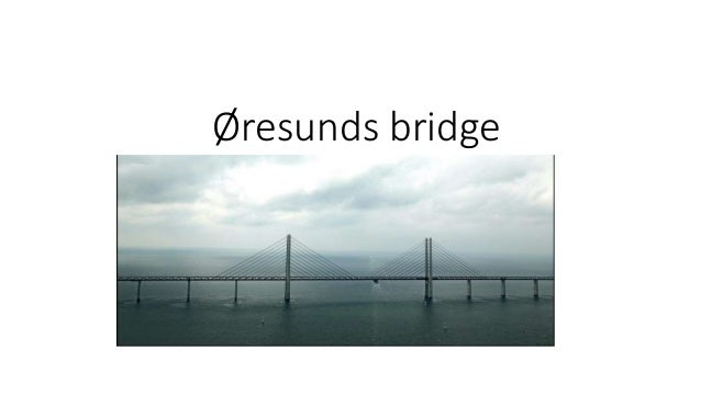 Øresunds bridge