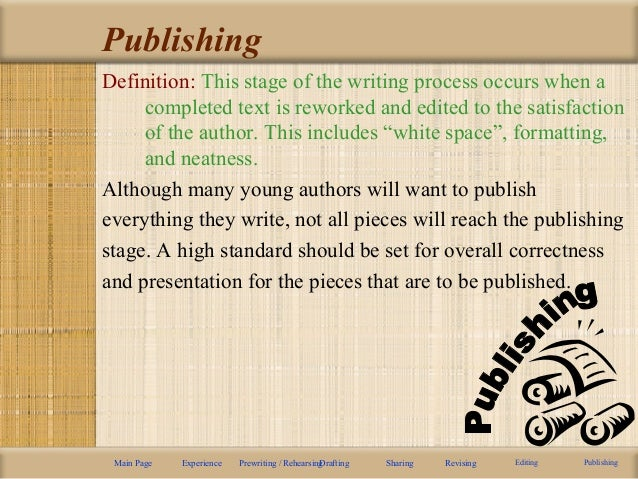 writing process powerpoint