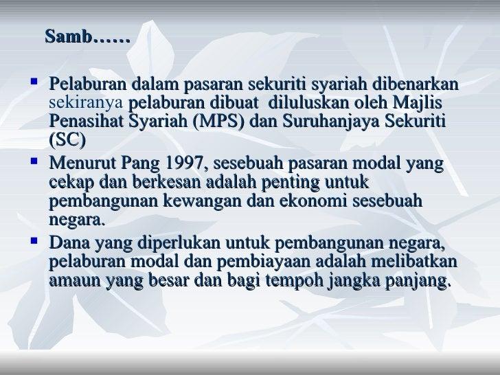 pasaran modal islam Cfa islamic adalah pemain pasaran modal islam terbesar di malaysia dalam sektor swasta beli sijil cfa hari ini untuk pendapatan pasif setiap 30 hari ramai yang belum .