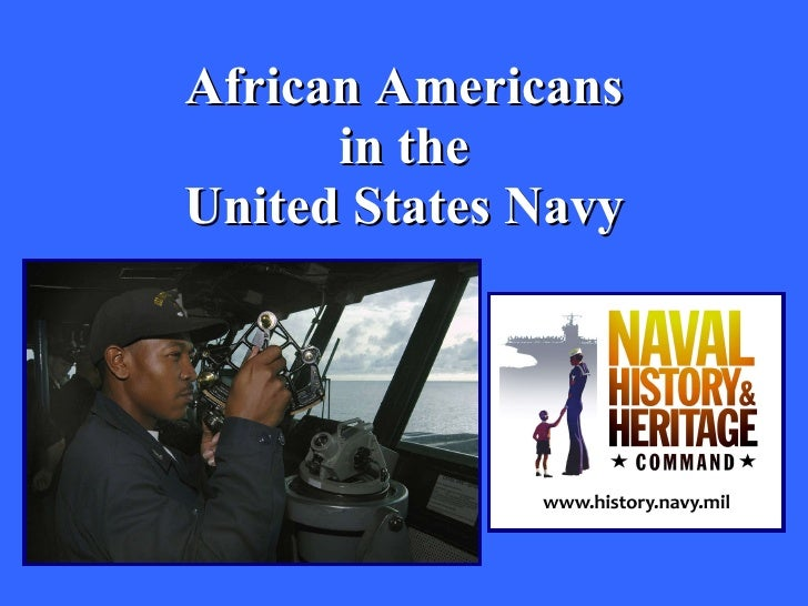 African Americans in the United States Navy