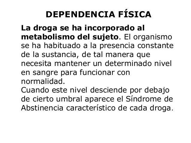 La ley del tratamiento de la narcomanía del alcoholismo y la toxicomanía