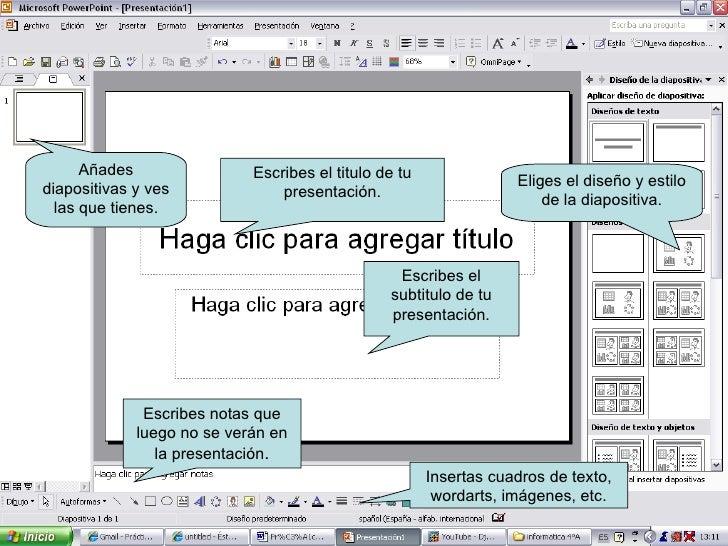 Escribes el titulo de tu presentación. Escribes el subtitulo de tu presentación. Escribes notas que luego no se verán en l...