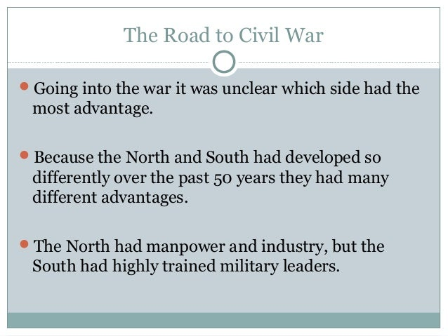 Road To Civil War Powerpoint