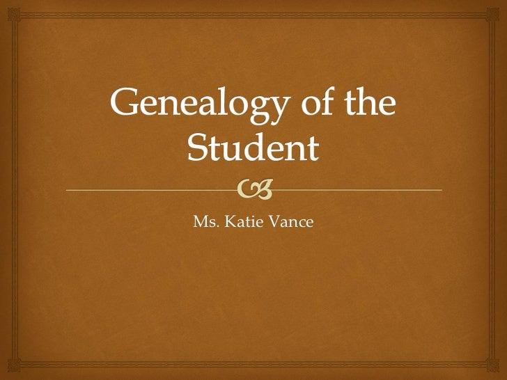 Ms. Katie Vance