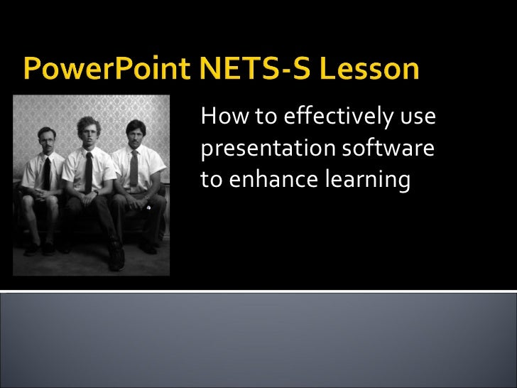 How to effectively use presentation software to enhance learning
