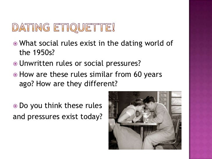 Sociological theories on dating