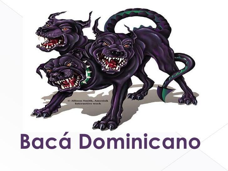 Bacá Dominicano<br />