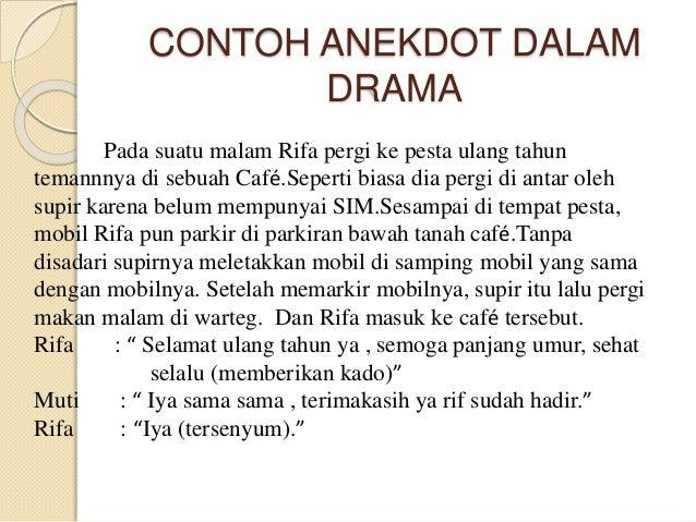 Power Point Bahasa Indonesia Anekdot