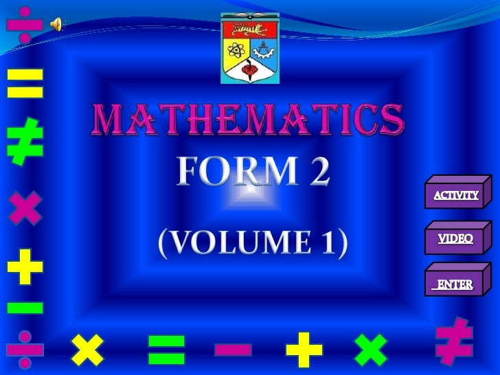 CHAPTER 1             DIRECTED NUMBERSSubtopics in this chapter:1.1   Multiplication and division of integers1.2   Combine...
