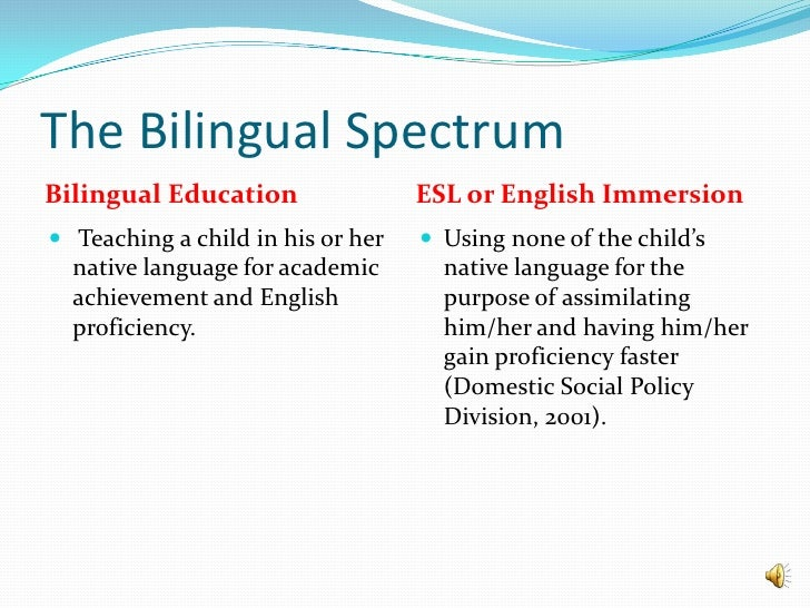 Power Point Bilingual Education Final 2