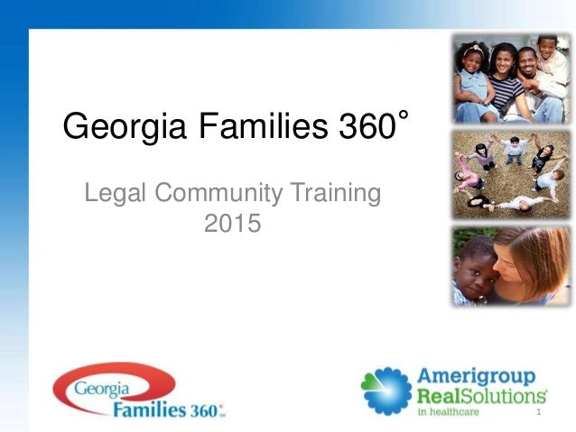 1 Georgia Families 360° Legal Community Training 2015