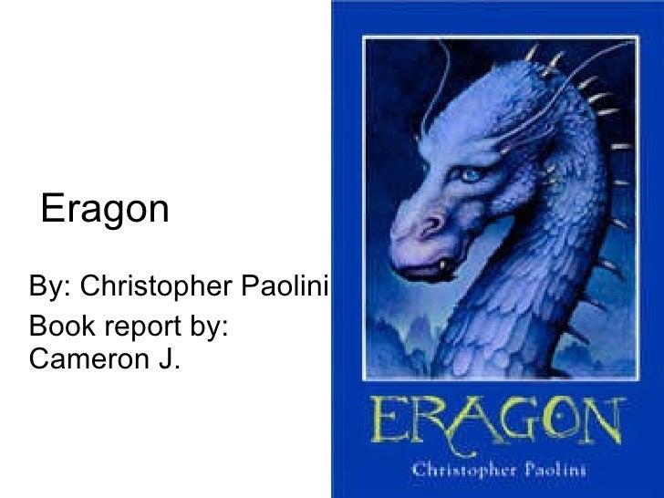 summary of eragon by christopher paolini essay