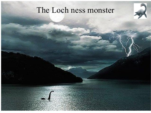 The Loch ness monster  16/12/2013  Alexandre Nomballier  1