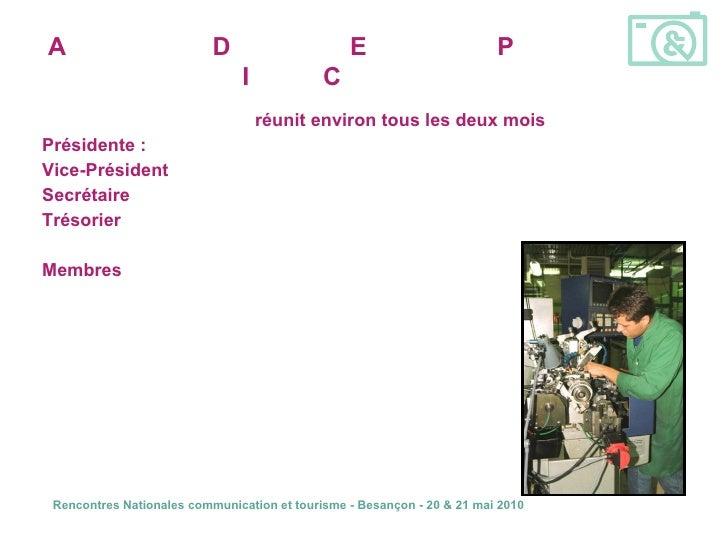 <ul><li>Le comité opérationnel se  réunit environ tous les deux mois  : </li></ul><ul><li>Présidente :  Mme Josette JORIET...