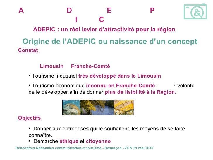 Visites d'entreprises en franche-Comté : la synergie des acteurs Slide 2