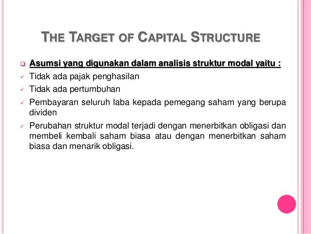 capital structure and leverage This article is a topic within the subject business finance.