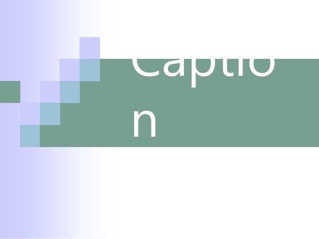Materi Caption Bahasa Inggris 3