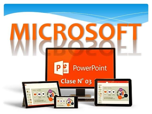 PowerPoint: Clase Nº 03 Slide 2