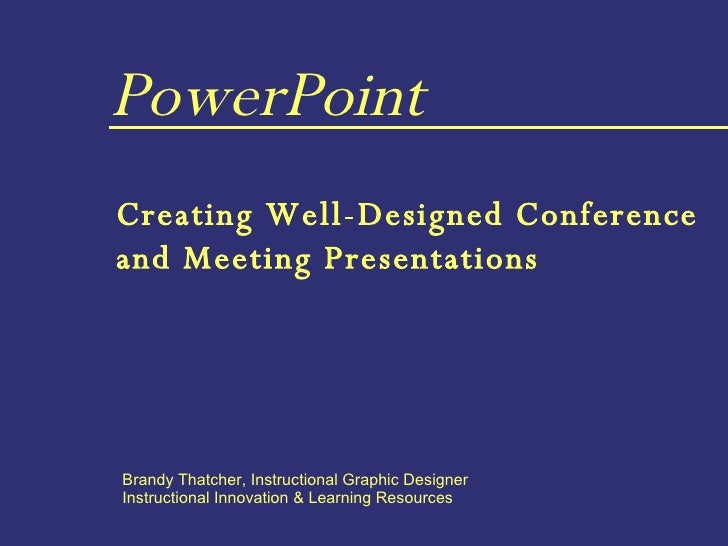 Power point creating well designed presentations for Well designed powerpoint templates