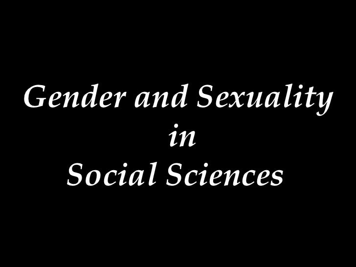 Gender and Sexuality  in Social Sciences
