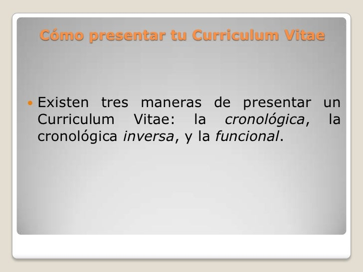 power point curr u00edculum vitae