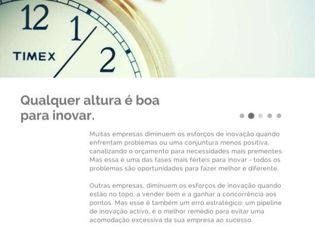 Apresentação de serviços Customer Driven Innovation Slide 2