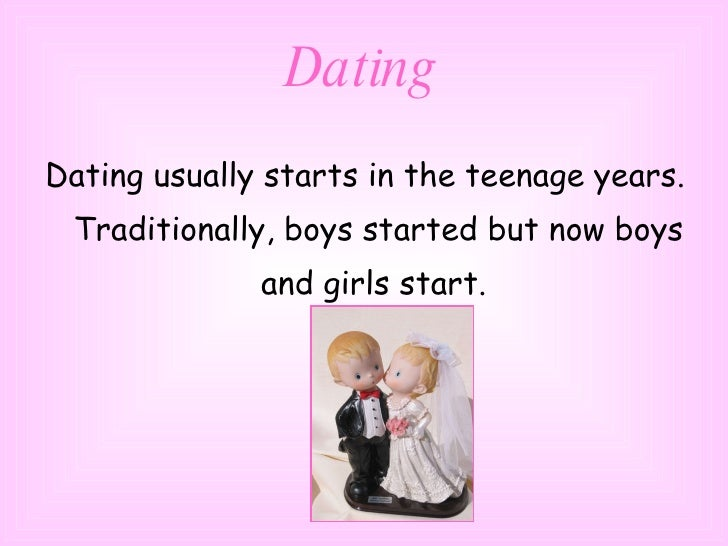 Dating and marriage customs in britain