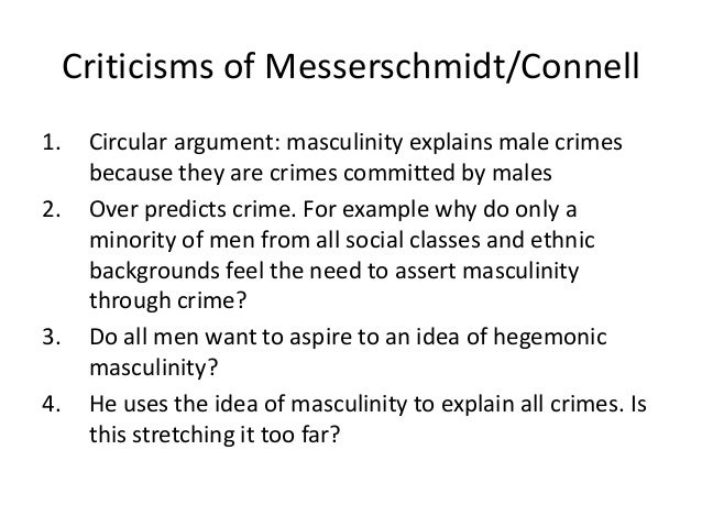 argumentative essay on masculinity What models of black masculinity does wright your paper must be a complete argumentative essay q essay's argument is based on a critical.