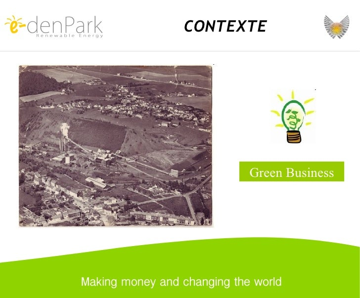 Green Business CONTEXTE