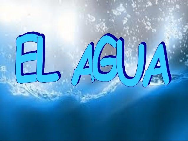 • El agua es una condición necesaria para lavida y para el desarrollo social y económicode los seres humanos. Sin embargo,...