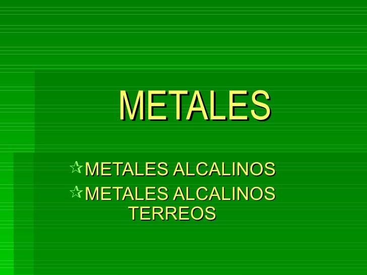 Power point de metales alcalinos metales ullimetales alcalinos urtaz Gallery