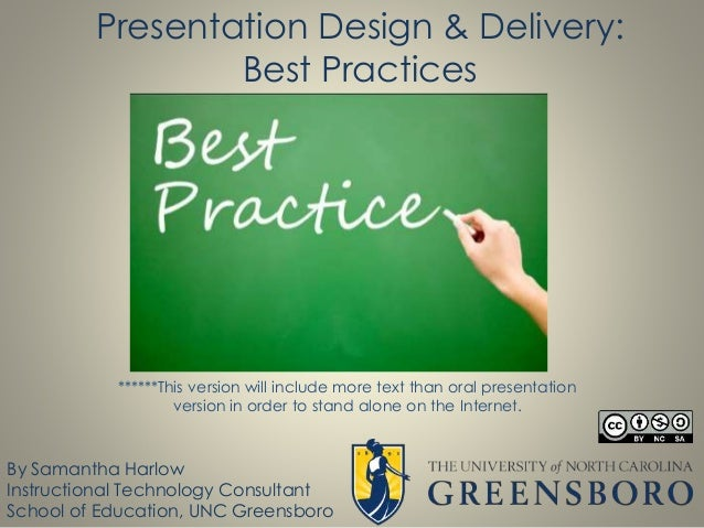 powerpoint design best practices