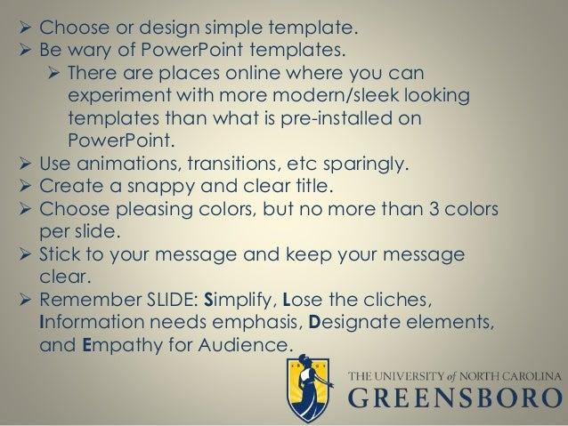 Powerpoint design best practices keep it simple 5 choose or design simple template toneelgroepblik Gallery