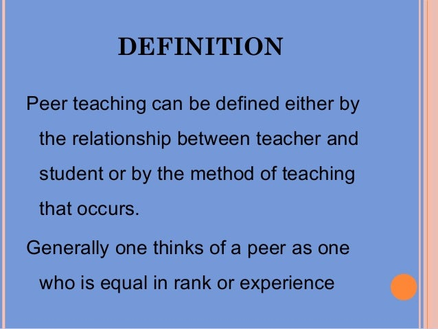 definition of teaching and learning pdf
