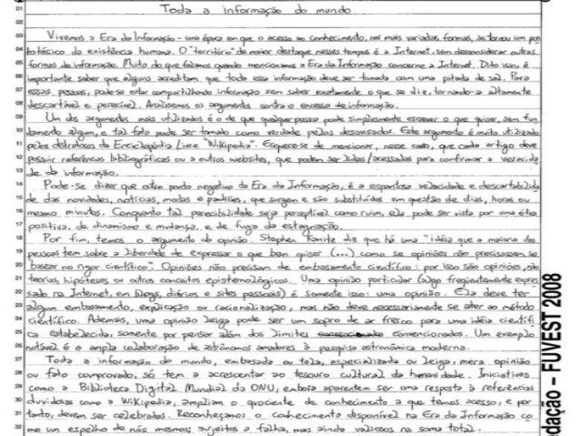 Tecnicas para fazer redação dissertativa argumentativa