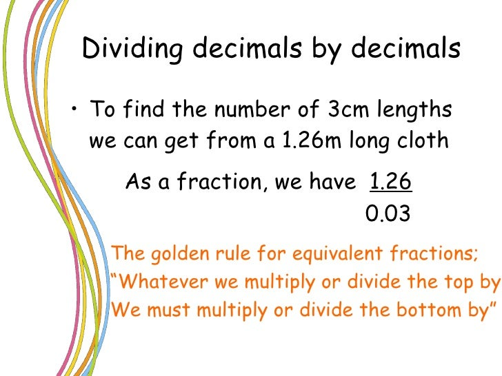Powerpoint Division Of Decimals L2